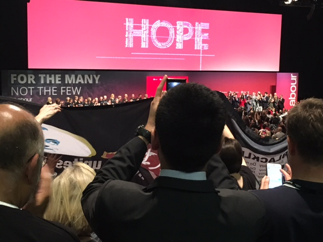 Labour Conference Welcoming Jeremy C